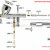 Аэрограф Iwata Eclipse HP-CS 5000