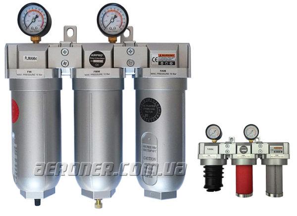 Фильтр тройной очистки воздуха AirPro FLMA964