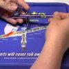 Коврик Iwata CL200 для чистки аэрографа 4482