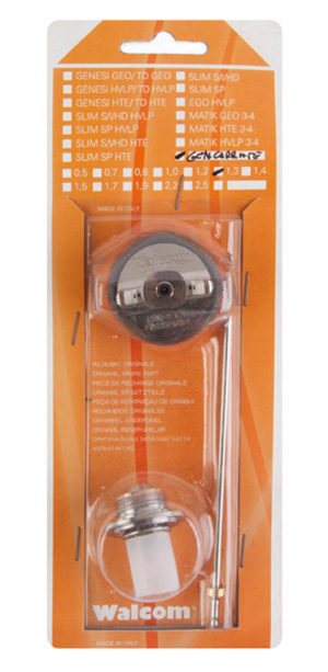 Набор сопло игла для Walcom Carbonio ADC kit HTE base 1.4