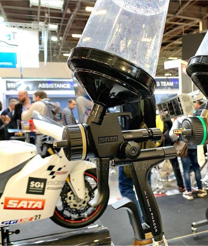 SATA 5500 X PHASER - концептуальный краскопульт для особых моментов!
