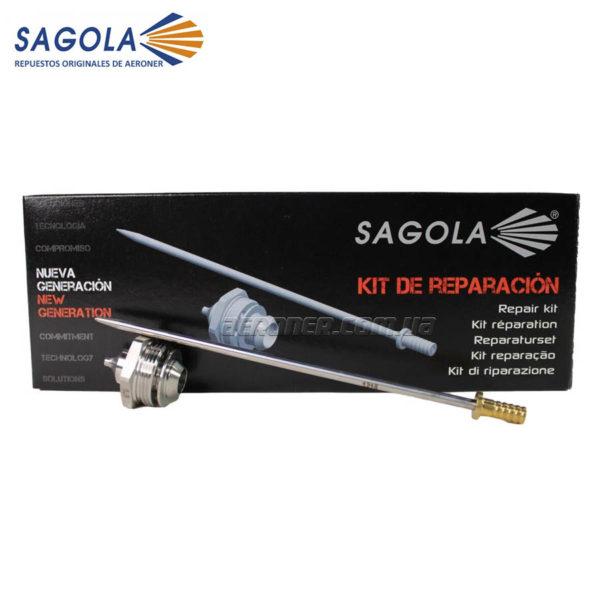 Ремкомплект Sagola 3300 GTO 1,6 мм (сопло+игла)