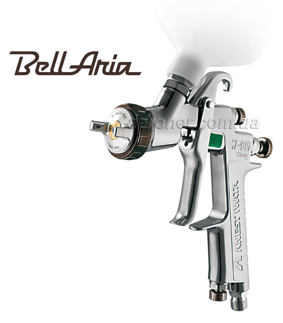 Краскопульт Iwata BellAria W400 1,6 мм