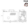 Компрессор Iwata Power Jet Lite IS-925 6988
