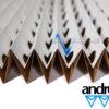 Картонный лабиринтный фильтр Andreae 10м x 0,75м 7116