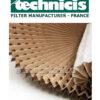 Картонный фильтр лабиринтный Technicis FCPW-900