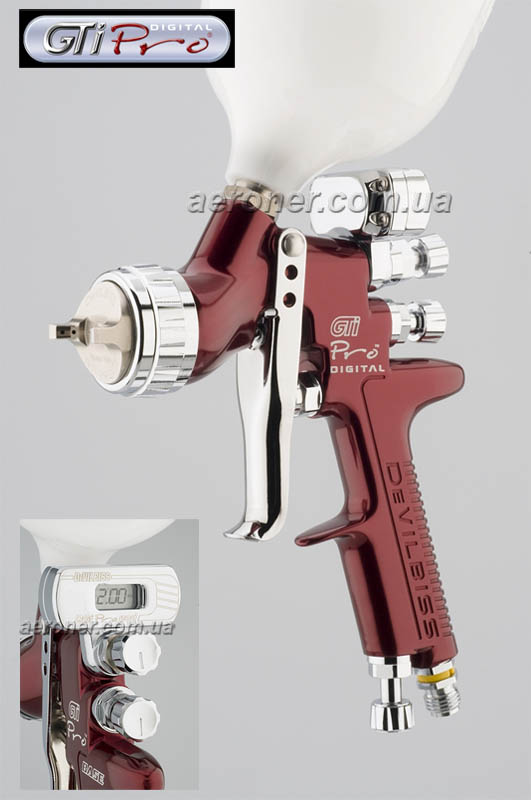 Краскопульт DeVilbiss GTi Pro Digital