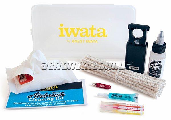 Набор для чистки аэрографов Iwata