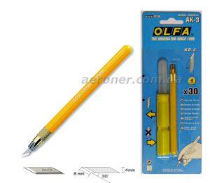 Нож дизайнерский Olfa AK-3