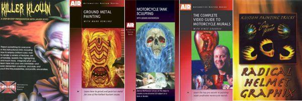 DVD Рисунки на металле