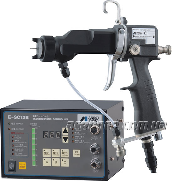 Электростатический краскопульт Iwata E-M15B