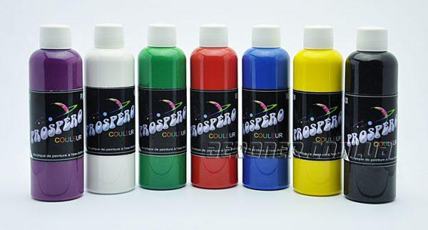 Краски для аэрографии Prospero Базовый акрил 7-100