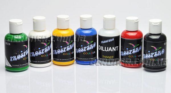 Краски для аэрографии Prospero Базовый акрил 7-60