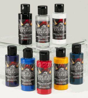 Краска Createx Wicked Sampler Set